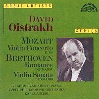 Přední strana obalu CD Mozart, Beethoven: Koncert pro housle a orchestr, K. 216 - Romance, Sonata pro housle a orchestr D dur