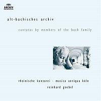 Rheinische Kantorei, Musica Antiqua Koln, Reinhard Goebel – J.M. Bach, G.C. Bach,  J.C. Bach: Cantatas by members of the Bach family [2 CDs]