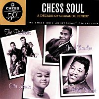 Přední strana obalu CD Chess Soul: A Decade Of Chiacgo's Finest