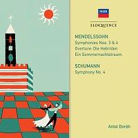 Přední strana obalu CD Mendelssohn, Schumann: Symphonies