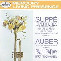 Detroit Symphony Orchestra, Paul Paray – Suppé: Overtures / Auber: The Bronze Horse, etc.
