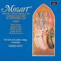 George Guest, Felicity Palmer, Margaret Cable, Philip Langridge, Stephen Roberts – Mozart: Missa brevis; Vesperae Solennes