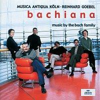 Musica Antiqua Koln, Reinhard Goebel – Bachiana I - Music by the Bach Family
