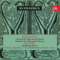 Česká filharmonie/Karel Šejna – Beethoven, Brahms: Koncert pro klavír a orchestr, Romance - Uherské tance