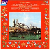 Přední strana obalu CD Handel / Vivaldi: Cantatas and Sonatas