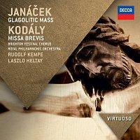 Přední strana obalu CD Janáček:  Glagolitic Mass; Kodály: Missa Brevis