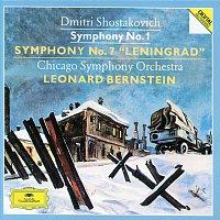 "Chicago Symphony Orchestra, Leonard Bernstein – Shostakovich: Symphonies Nos.1 & 7 ""Leningrad"""