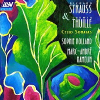 Přední strana obalu CD R. Strauss / Thuille: Sonatas for Cello and Piano