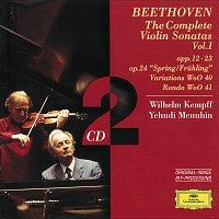 Přední strana obalu CD Beethoven: The Complete Violin Sonatas Vol.I