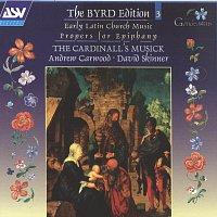 Přední strana obalu CD Byrd: Early Latin Church Music; Propers for Epiphany