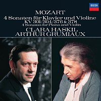 Clara Haskil, Arthur Grumiaux – Mozart: 4 Violin Sonatas for Piano and Violin, Nos.18, 21, 24 & 26