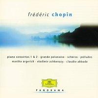 Přední strana obalu CD Chopin: Piano Concertos; Préludes