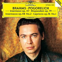 Přední strana obalu CD Brahms: Capriccio in F sharp minor Op.76 No.1