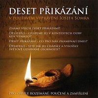 Přední strana obalu CD Deset přikázání v poutavém vyprávění Josefa Somra