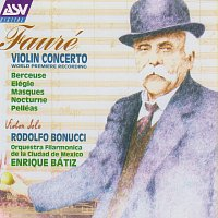 Přední strana obalu CD Fauré: Violin Concerto; Berceuse; Elégie; Masques; Nocturne; Pelléas