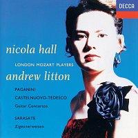 Přední strana obalu CD Paganini, Sarasate, Castelnuovo-Tedesco: Guitar Concertos