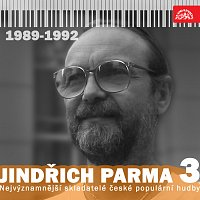 Přední strana obalu CD Nejvýznamnější skladatelé české populární hudby Jindřich Parma 3 (1989 - 1992)