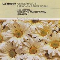 Přední strana obalu CD Rachmaninov: Piano Concerto No.2; Rhapsody on a Theme of Paganini