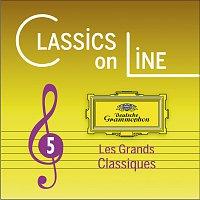Přední strana obalu CD Classics On Line - Volume 5 [Les Grands Classiques En Exclusivité Digitale]