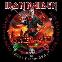 Iron Maiden – Nights of the Dead, Legacy of the Beast: Live in Mexico City (Deluxe Book Edition) CD