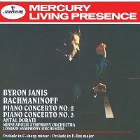 Byron Janis, London Symphony Orchestra, Minneapolis Symphony Orchestra – Rachmaninov: Piano Concertos Nos.2 & 3; Prelude in E flat etc.