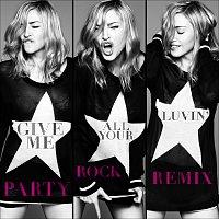 Přední strana obalu CD Give Me All Your Luvin' [Party Rock Remix]