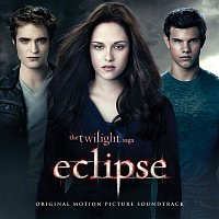 Přední strana obalu CD The Twilight Saga: Eclipse