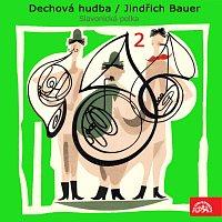Přední strana obalu CD Dechová hudba/Jindřich Bauer (2) Slavonická polka