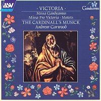 Přední strana obalu CD Victoria: Missa Gaudeamus; Missa Pro Victoria; Motets