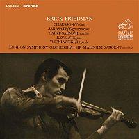 Erick Friedman, Pablo de Sarasate, London Symphony Orchestra, Sir Malcolm Sargent – Friedman Plays Chausson, Sarasate, Saint-Saens, Ravel & Wieniawski
