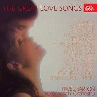 Přední strana obalu CD The Great Love Songs