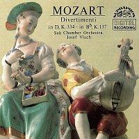 Sukův komorní orchestr/Josef Vlach – Mozart: Divertimenta