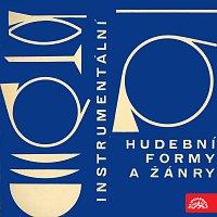 Přední strana obalu CD Instrumentální hudební formy a žánry