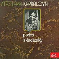 Přední strana obalu CD Portrét skladatelky Vítězslavy Kaprálové