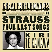 Přední strana obalu CD R. Strauss: Four Last Songs; Orchestral Songs