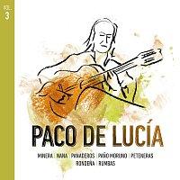 Přední strana obalu CD Paco De Lucía Por Estilos [Vol.3]