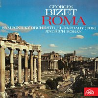 Přední strana obalu CD Bizet: Roma. Symfonie C dur
