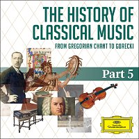 Přední strana obalu CD The History Of Classical Music - Part 5 - From Sibelius To Górecki