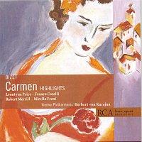 Přední strana obalu CD Basic Opera Highlights-Bizet: Carmen