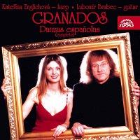 Přední strana obalu CD Granados: Španělské tance