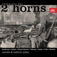 Přední strana obalu CD Beethoven, Rejcha, Rössler-Rosetti, Pokorný, Fiala, Haydn, Hanisch: Koncerty pro dva lesní rohy
