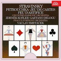 Stravinskij: Petruška, Hra v karty, Ohňostroj
