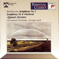 """George Szell, The Cleveland Orchestra, Ludwig van Beethoven – Beethoven: Symphony No. 1; Symphony No. 6 """"PastoralE""""; Egmont Overture"""