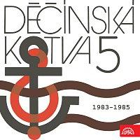 Přední strana obalu CD Děčínská kotva Supraphon 5 (1983 - 1985)
