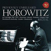 Vladimir Horowitz – Horowitz - Recital at Carnegie Hall 1951
