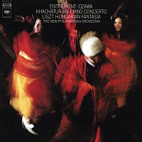 Philippe Entremont, Aram Khachaturian, New Philharmonia Orchestra, Seiji Ozawa – Khachaturian: Piano Concerto in D-Flat Major, Op. 38 - Liszt: Hungarian Fantasy, S. 123 - Ravel: Piano Concerto for the Left Hand, M. 82