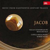Přední strana obalu CD Jacob: Missa Dei Filii. Hudba Prahy 18. století