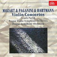 Čeněk Pavlík – Houslové koncerty /Mozart, Paganini, Hartmann