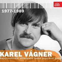 Přední strana obalu CD Nejvýznamnější skladatelé české populární hudby Karel Vágner (1977-1989)