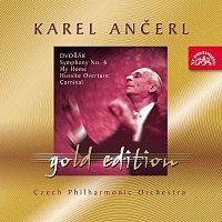Přední strana obalu CD Ančerl Gold Edition 19. Dvořák: Symfonie č. 6 D dur, Můj domov, Husitská, Karneval